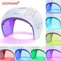 7 цветов устройство фотодинамической терапии светодиодный фотон светильник терапия лампа для лица тела Красота SPA ФДТ маска для стягивания ...