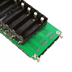 Image 4 - الطاقة الجدار 18650 حامل بطارية 62 فولت/72 فولت صندوق بطارية موازن PCM 17s 45A BMS لتقوم بها بنفسك عدة 18650 بطارية حزمة ل Ebike سيارة كهربائية