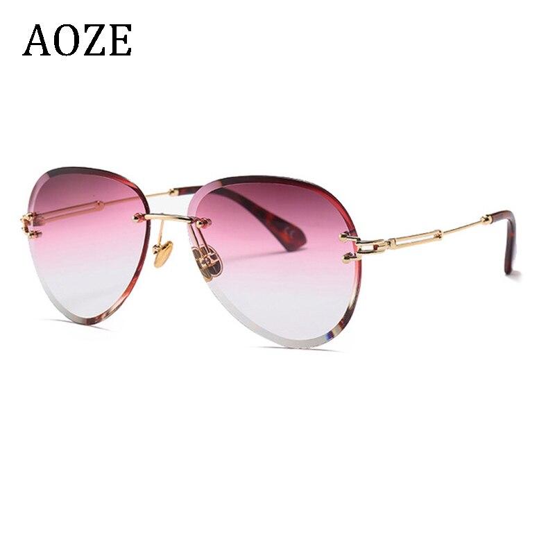 2020 moda rosa sin aro gafas de sol de las mujeres de aviación de lujo gafas de sol de las señoras tonos zonnebril dames UV 2020 mochilas de felpa de dibujos animados en 3D para niños, mochila de guardería, mochila de animales para niños, mochilas escolares para niñas y niños