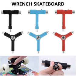 T/Y Type Wrench Multifunction Disassembly Tools Accessories Use for Roller Skate Scooter Skateboard Tools Socket Wrench Dropship