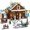 Blocchi di costruzione Compatibile lepining Amici e Disneye film Frozeninglys sy1430 Negozio di Alimentari di Mattoni per bambini giocattoli per i bambini