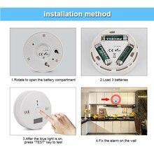 Портативный CO детектор сигнализации ЖК-монитор безопасности газа детектор угарного газа на батарейках PR распродажа