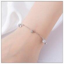 925 sterling silver bracelet women charm Silver friendship bracelets