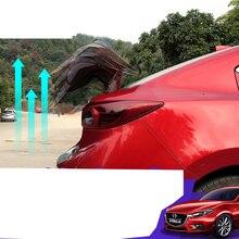 Lsrtw2017 из нержавеющей стали капот автомобиля гидравлический шток поддержка для mazda 3 Axela BM 2013