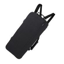 Enstrümantal sırt çantası trompet müzik çanta kapak Cornet sırt çantası siyah naylon
