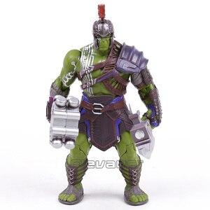 Image 2 - Thor 3 Ragnarok Hulk Robert Bruce Banner PVC Action Figure Da Collezione Model Toy