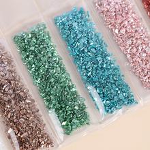 1Set di pietre di vetro rotte fai-da-te riempitivo epossidico fai-da-te gioielli per Nail Art che fanno riempimenti di stampi di alta qualità cheap CN (Origine)