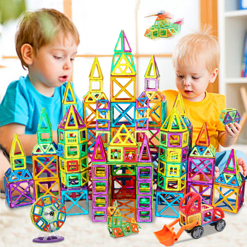 KACUU Big Size Magnetic Designer Construction Set Model & Building <font><b>Toy</b></font> Magnets Magnetic Blocks Educational <font><b>Toys</b></font> <font><b>For</b></font> <font><b>Children</b></font> image