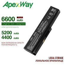 ApexWay 11.1v laptop battery pa3634 for toshiba Satellite A665D C640 C640D C645D C650 C655 C655D C660 C660D PA3634U-1BRS 3634(China)