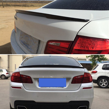 For BMW 5 Series F10 spoiler 2010--2017 year rear wing  p style Sport body kit Accessories real carbon fiber