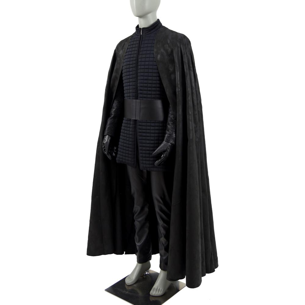 Cossky The Last Jedi Kylo Ren Cosplay Costume Halloween Show Full Set Men Costume
