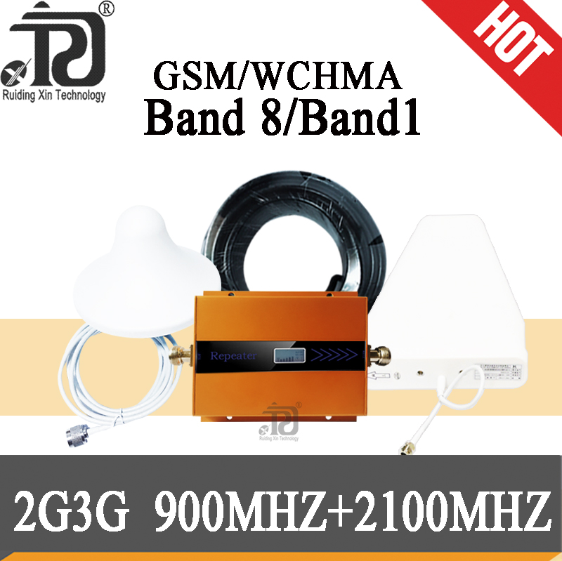 4g repeater 2100 gsm 900 amplifier Dual Band Repeater gsm repeater 900 Mobile Signal Booster 3G