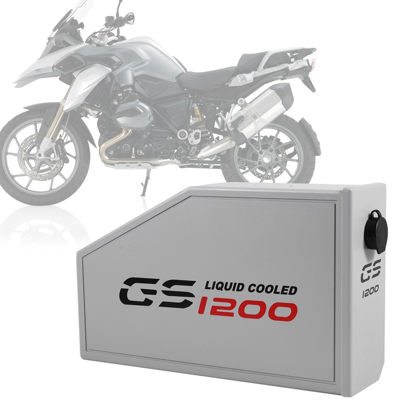 Tool Box Decorative For Left Side Bracket 5 Liters Aluminum R1200GS Toolbox For BMW R1200GS LC Adventure R 1200 GS 2013-2018