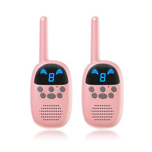 Children phone Walkie Talkie Toys electronic gadgets battery operated radios wireless walkie talkie intercom talking toy(China)