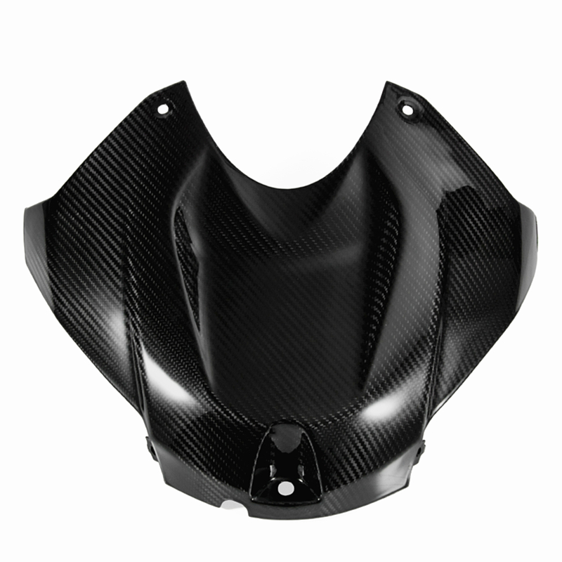 Motorcycle accessories Carbon Fiber Front Tank Panel Cover Guard Fairing Protection for BMW S1000RR 2015 2016 2017 2018 image
