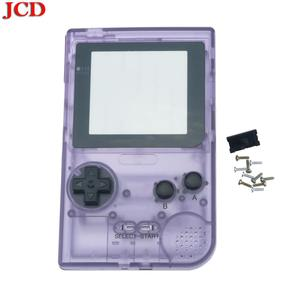 Image 5 - Полностью закрытый чехол JCD DIY, сменный корпус для карманной игровой консоли Gameboy для GBP, чехол с кнопками, объектив класса