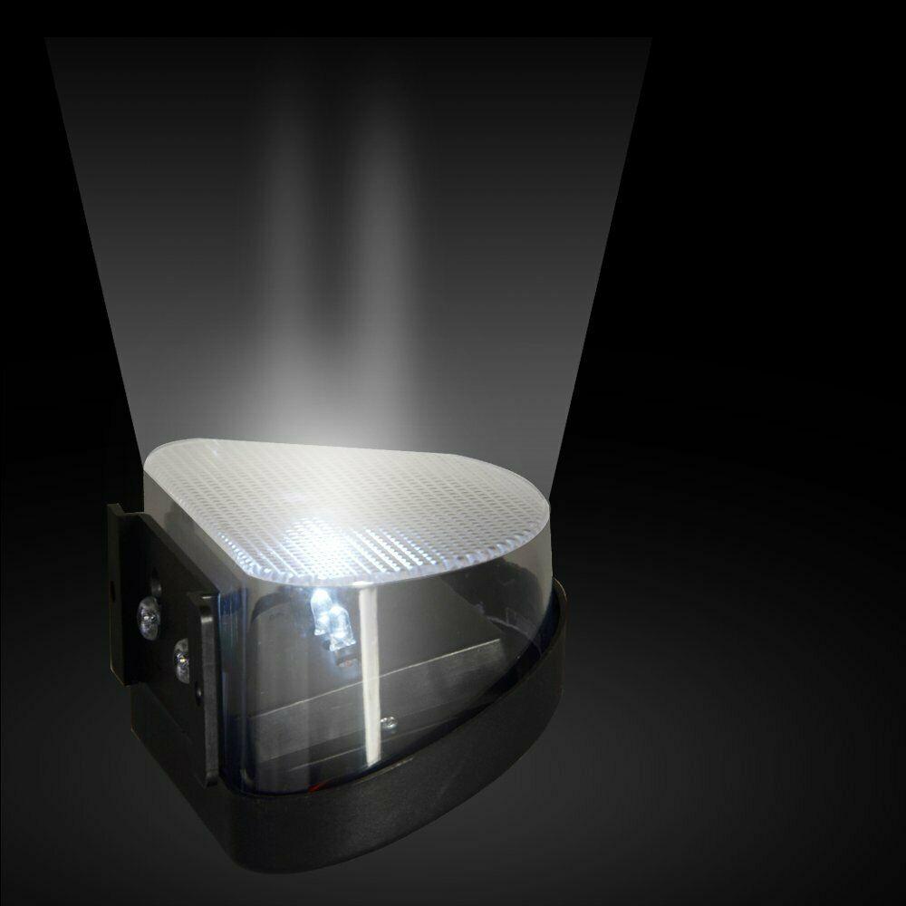 exterior lâmpada de parede 3 led ip65