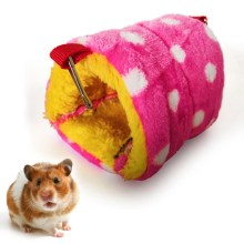 Funny Hamster Cage Hanging House Hammock Sleeping Nest Pet Bed Pet Rat Hamster Toys Swing Cage for Small Animals Pets 1pc hamster hanging house hammock cage sleeping nest pet bed rat hamster toys cage swing pet banana design small animals