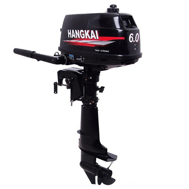 New 2 Stroke 6.0HP Outboard Motor Boat Engine Boat Motor Water Cooling System Hand-start Motor High Quality