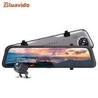Bluavido 2K Resolution Dash cam 12 Inch Car Rearview Mirror DVR FHD 1440P Hisilicon CPU Super Night Vision Car Video Recorder