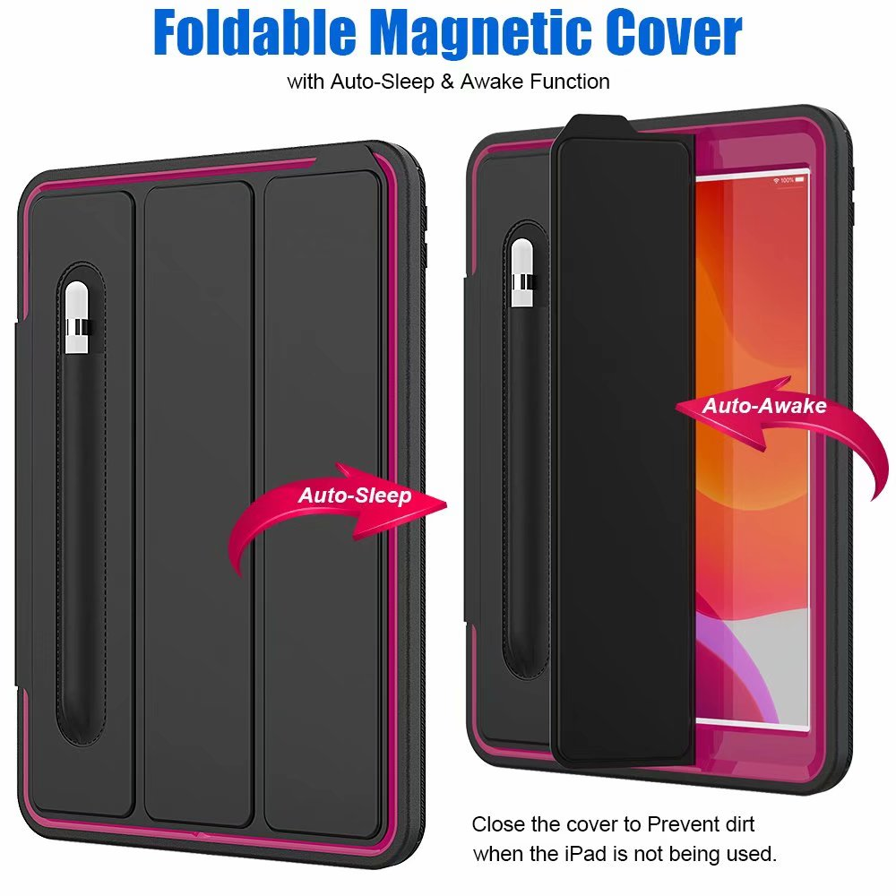 case 10.2 For smart 7th Case Armor ipad For iPad generation Shockproof 2019 Kickstand