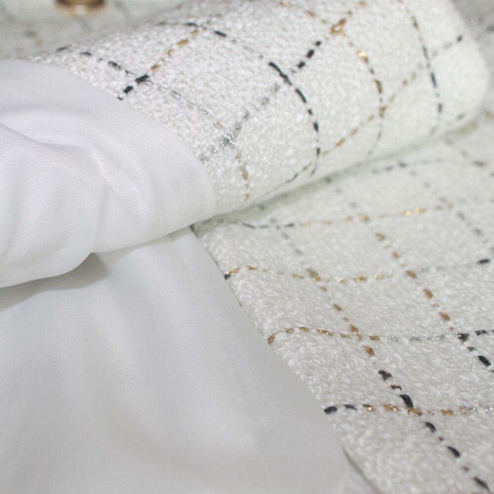 Materiale di spessore di Modo Pannello Esterno Del Vestito Femminile Vestito di Affari Giacca Nera Del Vestito Da Lavoro Femminile Ufficio Disegno del Vestito di Inverno del Vestito - 6
