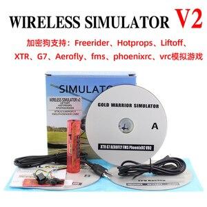 Image 1 - Wireless RC Simulatore di RC di Simulazione di Volo V2 Realflight XTR/FMS/G7/Phoenix/Freerider FPV Quadcopter di Formazione RC Simulatore
