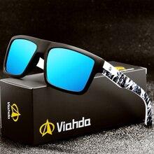 Viahda 2020 nowy marka Squared spolaryzowane okulary mężczyźni Sport projektant Mormaii okulary gafas de sol z pudełkiem