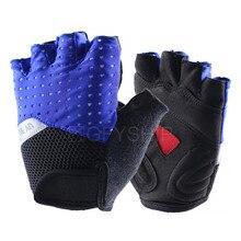 Универсальные велосипедные перчатки с полупальцами, велосипедные противоскользящие, анти-пот, анти-шок, дышащие перчатки, перчатки для езды на велосипеде, на открытом воздухе, для езды на мотоцикле, для спорта