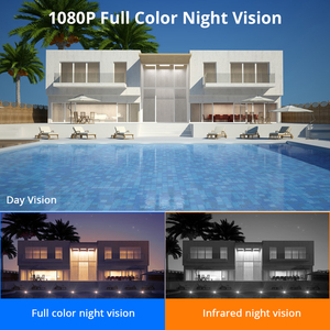 Image 3 - 1080P 2MP 4MP  WIFI IP Camera Outdoor ONVIF Wireless Waterproof Camera App Alarm Color Night Vision TF Card Hiseeu
