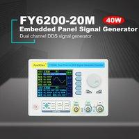 FellTech FY6200 вставная панель синхронный генератор DDS двухканальный функциональный генератор 40 м генератор сигналов