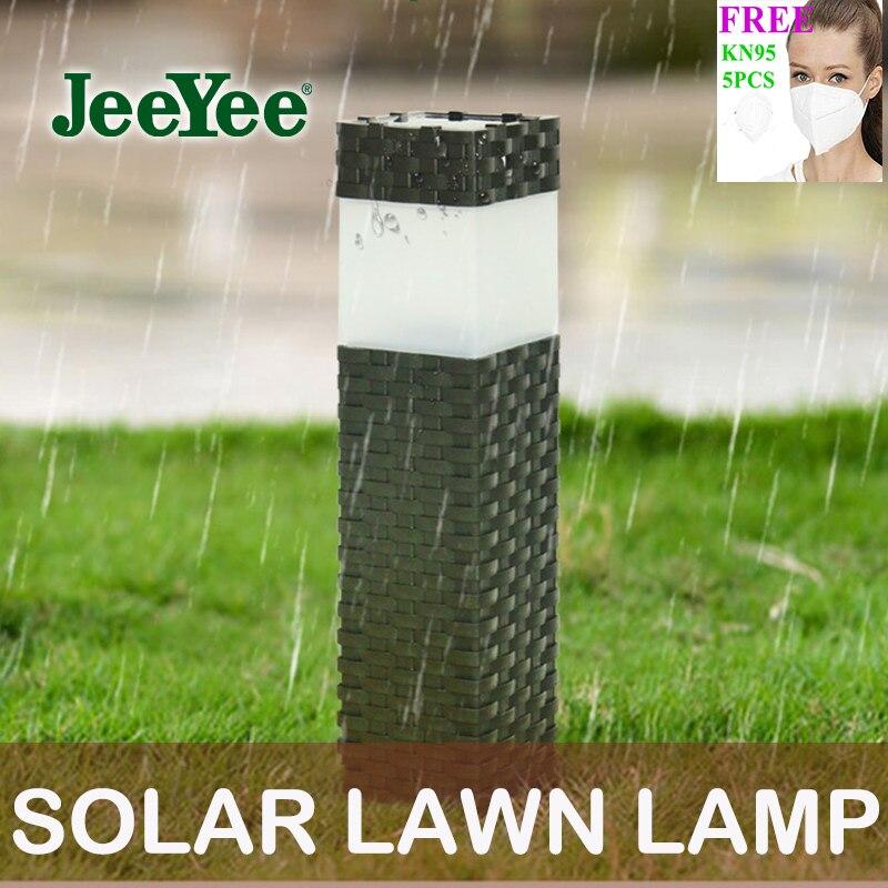 JeeYee Marke Solarenergie Rasen Lampe Led Solar Outdoor Lichter Garten Lichter Lampen Outdoor Garland Beleuchtung LED Rasen Licht Straße