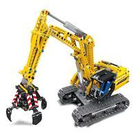 LELE Technic Series Mechanical Excavator Mechanical shovel Building Blocks Bricks 38014 Toys Gift For Children Technic 8043