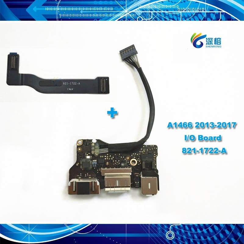Оригинальная плата ввода/вывода USB со штекером для наушников гибкий кабель 820-3455-A 821-1722-A для Apple Macbook Air 13,3