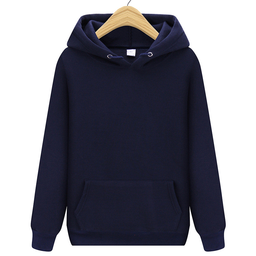 New Men Brand Hooded Hoodies Streetwear Hip Hop Mens Hoodies And Sweatshirts Solid Navy Purple Orange Red Dark Gray Black White