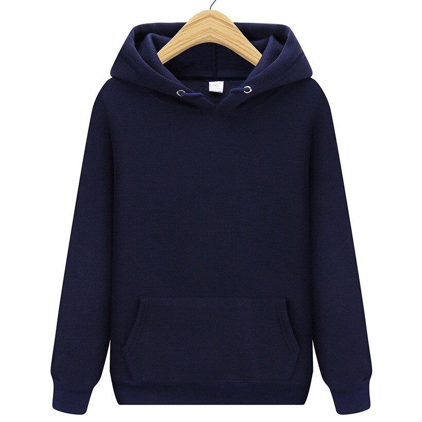 New Men Brand Hooded Hoodies Streetwear Hip Hop Mens Hoodies And Sweatshirts Solid Navy Purple Orange Red Dark Gray Black White