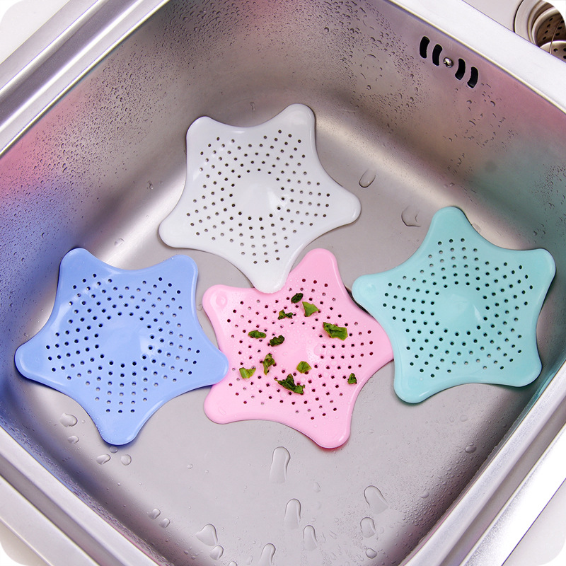 Anti-blocking Floor Drain Silicone Sucker Sewer Outfall Strainer Sink Filter Hair Stopper & Catcher Bathroom Kitchen Accessories