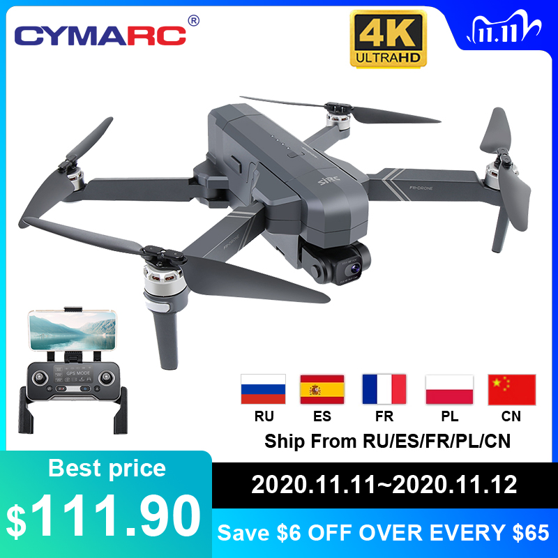 SJRC F11 Pro 4K GPS Drone 5G Wifi FPV Dual Camera 2 Anis Gimbal 50X Zoom Professional Brushless Quadcopter RC Dron SG906 Pro 2