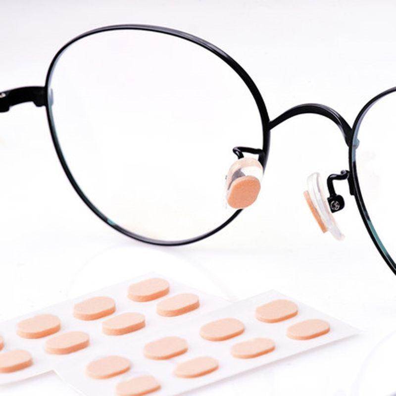10 Pair Soft Foam Nose Pad Self Adhesive Anti-Slip Eyeglass Sunglasses Nose Pads In  Men Women's eyewear Accesories