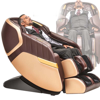 Multifunctional electric home physiotherapy intelligent luxury massage chair massager for cervical lumbar