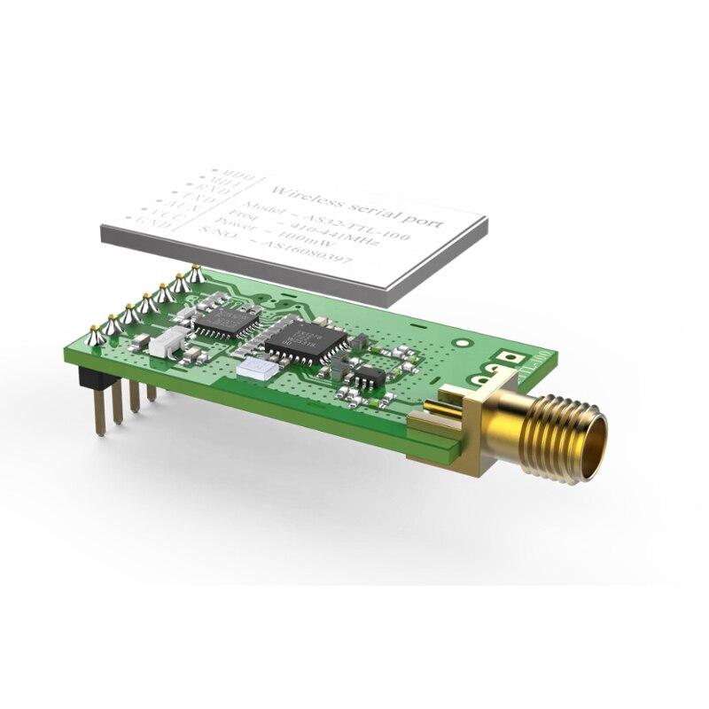 1 пара 433 МГц SX1278 LORA беспроводной радиочастотный модуль 100 МВт 3000 м дальние расстояния lora широкий спектр беспроволочный последовательный пор...