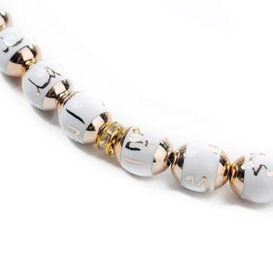 Image 3 - イスラム教徒数珠ラウンドビーズtesbihアッラーtasbeehロザリオイスラム経典tasby崇拝用品