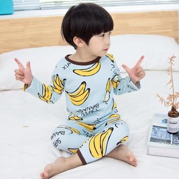 Conjunto de ropa interior de cachemir para niños, Conjunto de pijama de bebé para Otoño e Invierno de 2 piezas