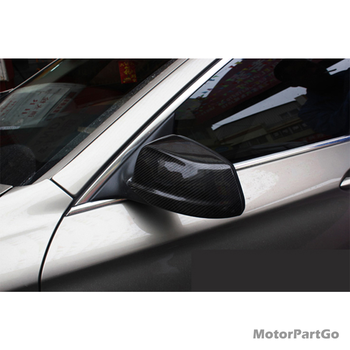 Carbon Fiber replace Rearview mirror cover 1 pair for BMW 5-SERIES F10  F18  2010-2013   B633 1