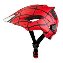 2019 Spiderman Children Protective Helmet Kids Helmet Cyclin