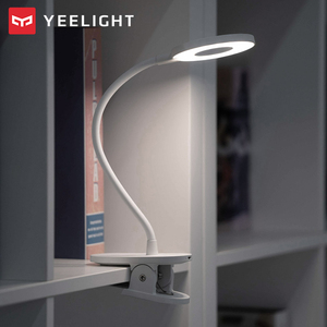 Image 2 - Yeelight LED Desk Lamp Clip On Night Light USB Rechargeable 5W 360 Degrees Adjustable Dimming Reading Lamp For Bedroom