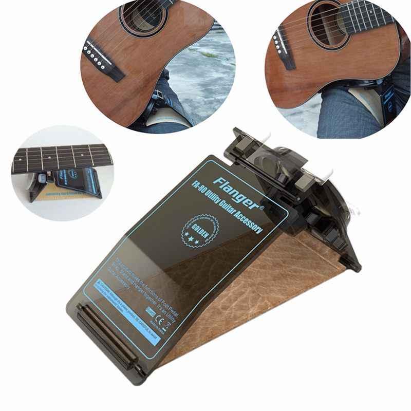 Flanger FA-80 فائدة عملية الغيتار ملحق مسند القدم حزام الرقبة الوقوف الراحة للجيتار الكلاسيكي الغيتار الشعبي