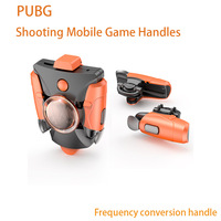 NOW Game handle Mobile Game Fire Button Aim Key joystick Smart phone Mobile Game Trigger L1R1 Controller for PUBG