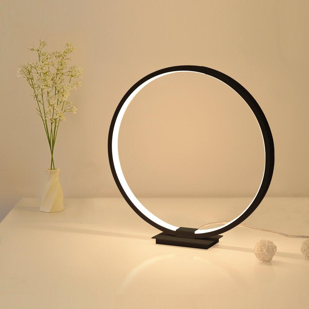 Lamplo lampe de chevet moderne, lampe de Table moderne lampe de bureau en acrylique lampe de bureau en acrylique lampe de chevet minimaliste pour la lecture, à intensité réglable