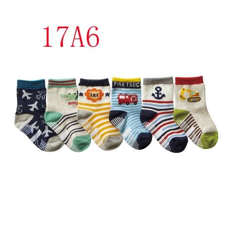 Nissen CHILDRENS Socks Pure Cotton Spring And Autumn New Style Socks Cute Male Baby Socks Cartoon Baby Socks Slip Socks